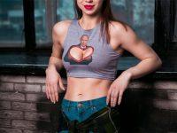 Путин, грудь, футболка,