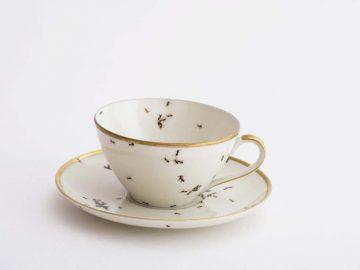 посуда, муравьи, арт