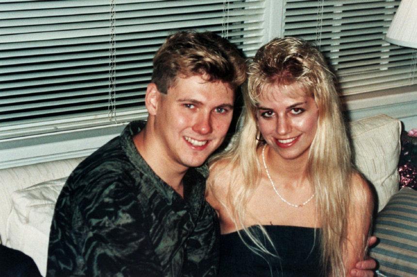 Карла Хомолка с мужем