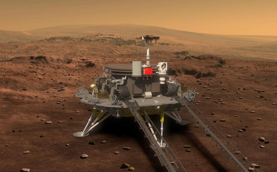 В китайской пустыне разобьют «марсианскую деревню»