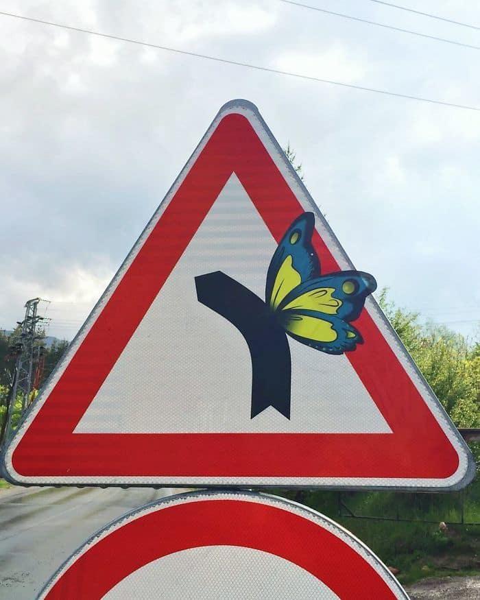 дорожные знаки, художник,