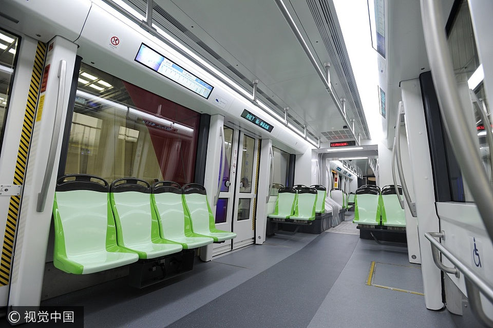В Китае создан первый в мире беспилотный трамвай