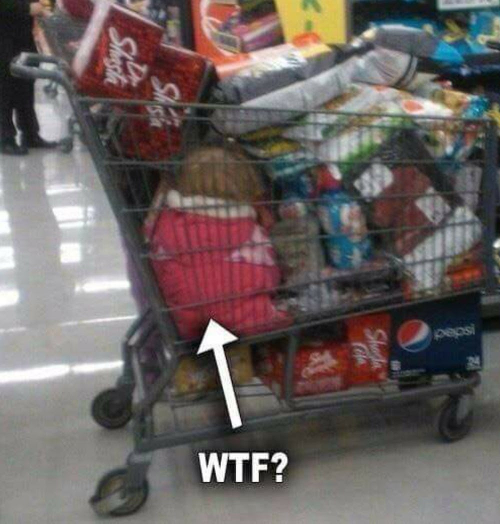 Родитель всегда прав! Топ «креативных» родителей по версии руководства сети супермаркетов Walmart