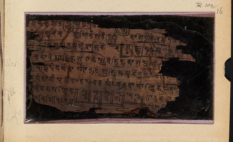 Ученые нашли самое раннее изображение ноля в древнейшем математическом манускрипте Индии