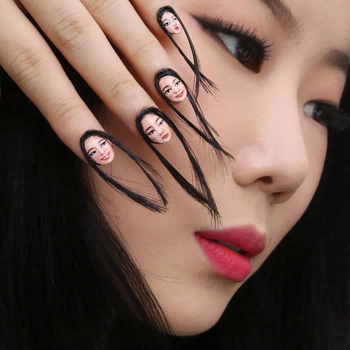 hair-selfie-nails-art-tiny-faces-designdain-2